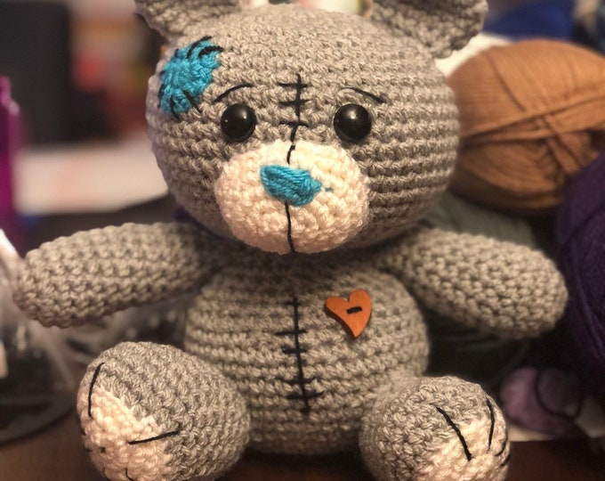Patch, the patchwork lovable teddy