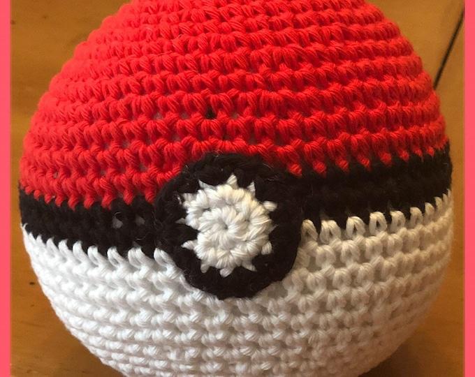 Pokemon, Made to order, Plush Pokeball, Pikachu Pokeball