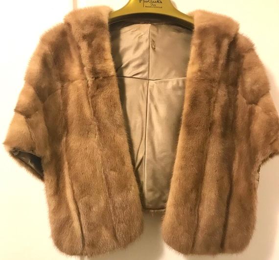 Gorgeous Vintage Mink Fur Stole