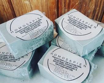 Lavender_Mint GOATS MILK SOAP