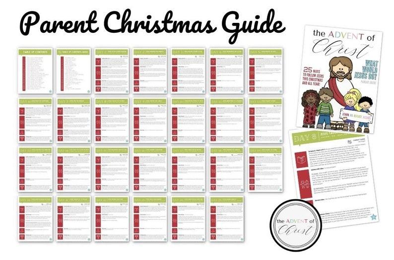 Christmas Advent Calendar Parent Guide image 0
