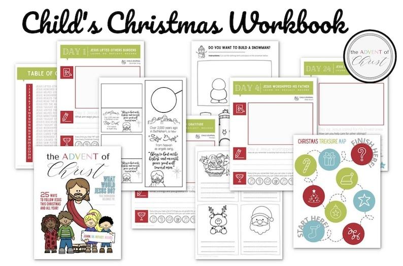Christmas Children's Workbook image 0