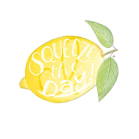 Squeeze The Day Wallpaper Background Computer Background Etsy