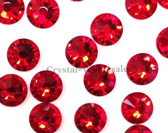 d2390df46 Light Siam (227) Swarovski 2058 Xilion/ New 2088 Xirius 12ss Crystal  Flatback No-Hotfix Rhinestones 3mm ss12 ** FREE Shipping