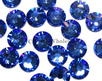 Sapphire (206) Swarovski 2058 Xilion  New 2088 Xirius 16ss Crystal Flatback  No-Hotfix Rhinestones 4mm ss16    FREE Shipping 8458e7f12d01