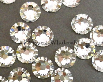 a91800132 Crystal (001) Swarovski 2058 Xilion/ New 2088 Xirius 40ss Flatback  No-Hotfix Rhinestone 8.5mm ss40 clear ** FREE Shipping