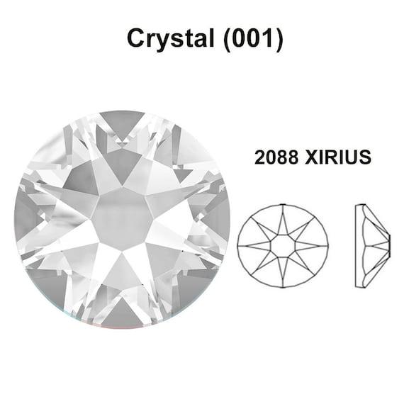 144 pcs clear Crystal Swarovski NEW 2088 Xirius 16ss Flat backs Rhinestones 4mm ss16 001