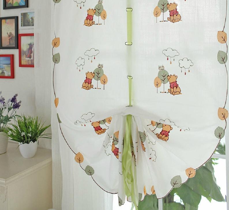 Winnie lourson attache rideaux pour chambre denfant bébé | Etsy