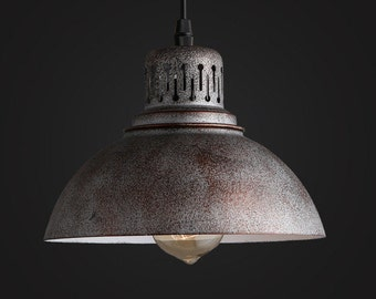 Industrial pendant light | Etsy