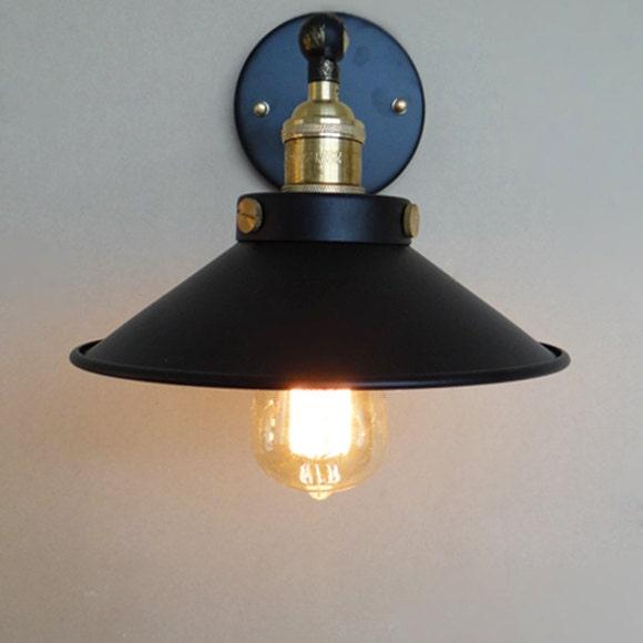 Stile industriale lampada da parete in acciaio  acciaio
