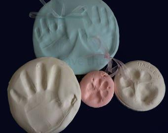 Clay Handprint / Footprint / Pawprint Kit In Choice of Colours