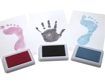 Reusable Baby Safe Ink Pads for Hand & Foot Prints