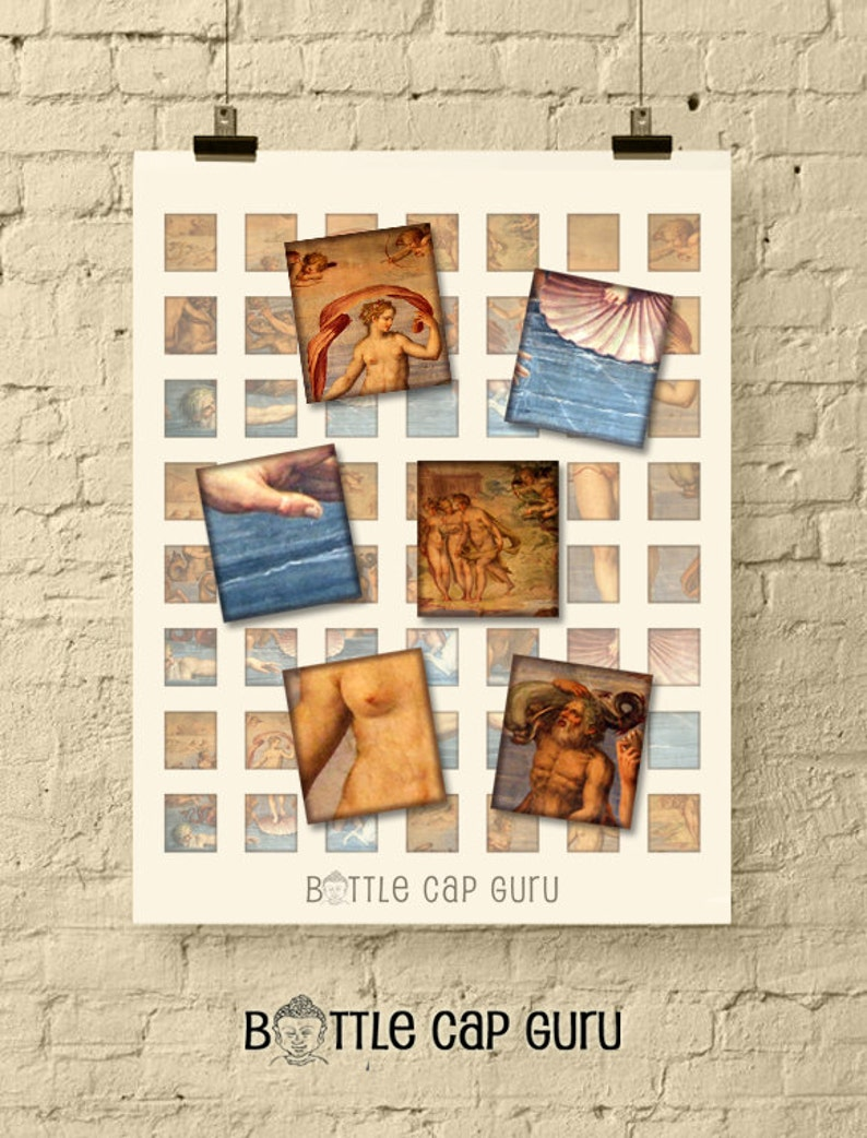 BIRTH of VENUS Scrabble Tile Images / Printable Images for image 0
