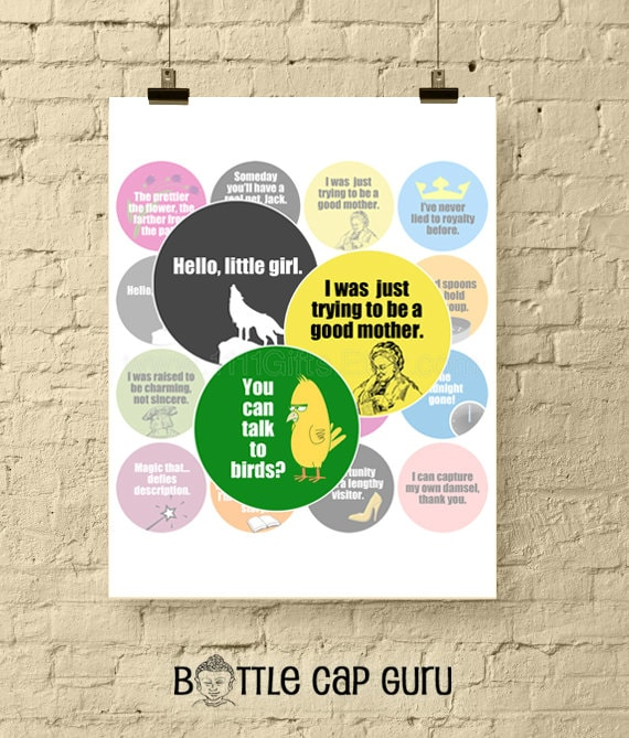 Into the Woods Movie Quotes / Broadway Musical Lyrics / ITW Film /  Printable 2\