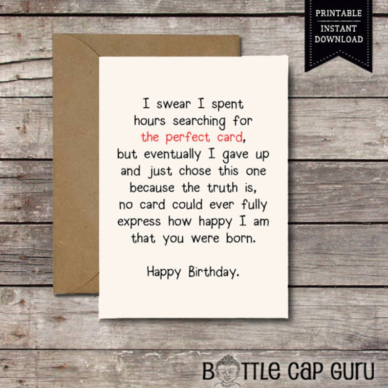 Download THE PERFECT CARD Happy Birthday Romantic
