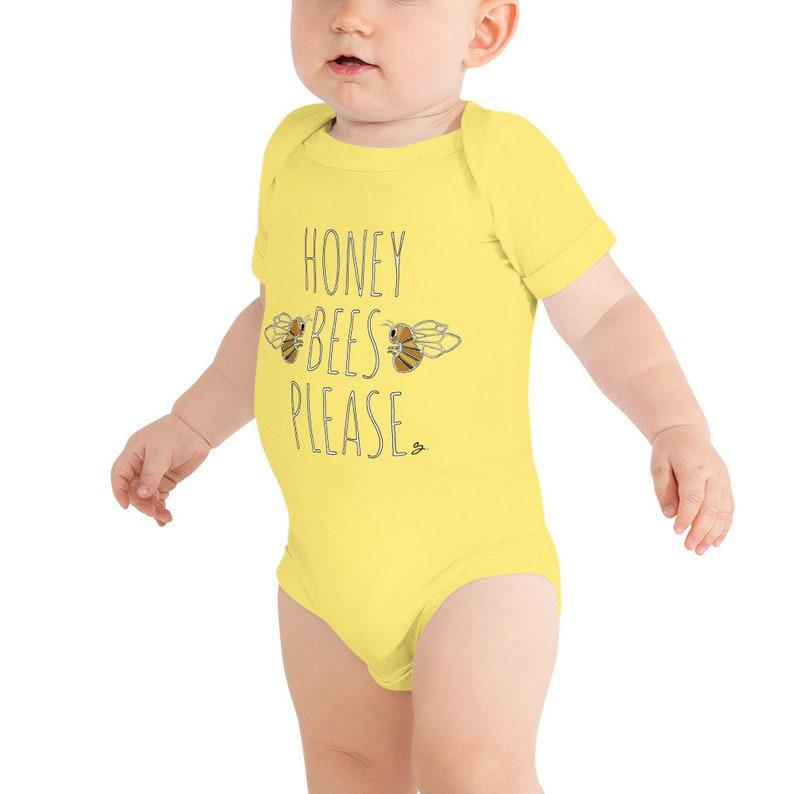 Onesie Honey Bees Please