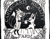 Postcard - Cardboard Reality Farm & Studio Logo