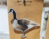 Canada Goose Pin - Left Facing