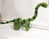 Brachiosaur Soft Sculpture (Crochet Stop Motion Puppet)