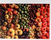Heirloom Tomato Gradient Postcard