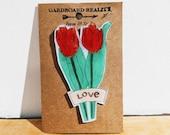 Tulip Love Pin