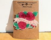 Beauty Rose Pin