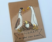 Congrats on your new hatch (mixed ducks) - baby card