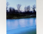 Frozen Pond Postcard
