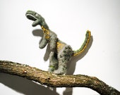 T Rex Soft Sculpture (Needle Felted Stop Motion Puppet)