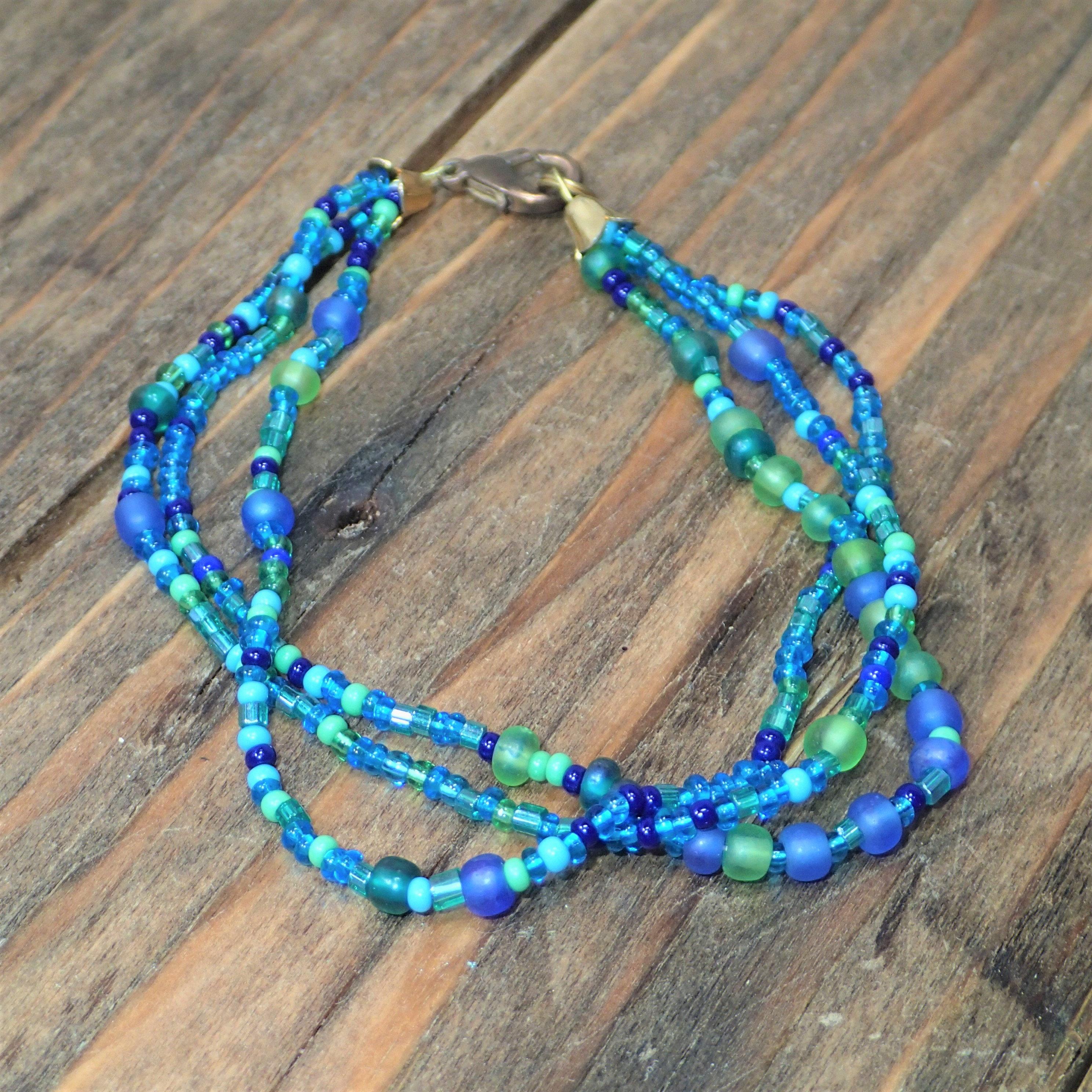 Vintage Beach Bracelet Bracelets for Women Glass Bead   Etsy