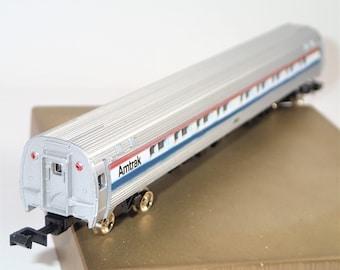 N Scale Bachmann Train, Vintage Trains, Passenger Coach Car Phase II, Amtrak Car, Amtrak 85' Budd Amfleet, Train Coach Car, Model Toy Trains