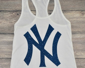 57084e3ba9a14a NY New York Yankees tank  womens