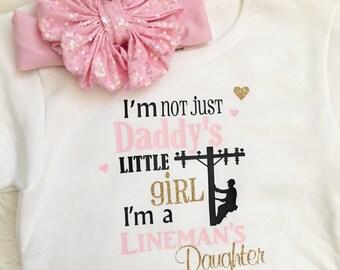 Linemans Daughter/Daddys little girl