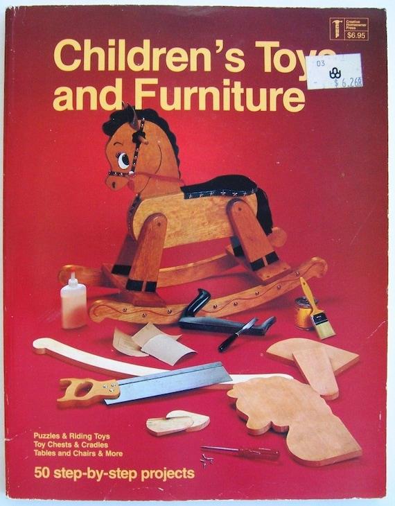 Children\'s Toys & Furniture Book DIY wood furniture plans instructions BOOK