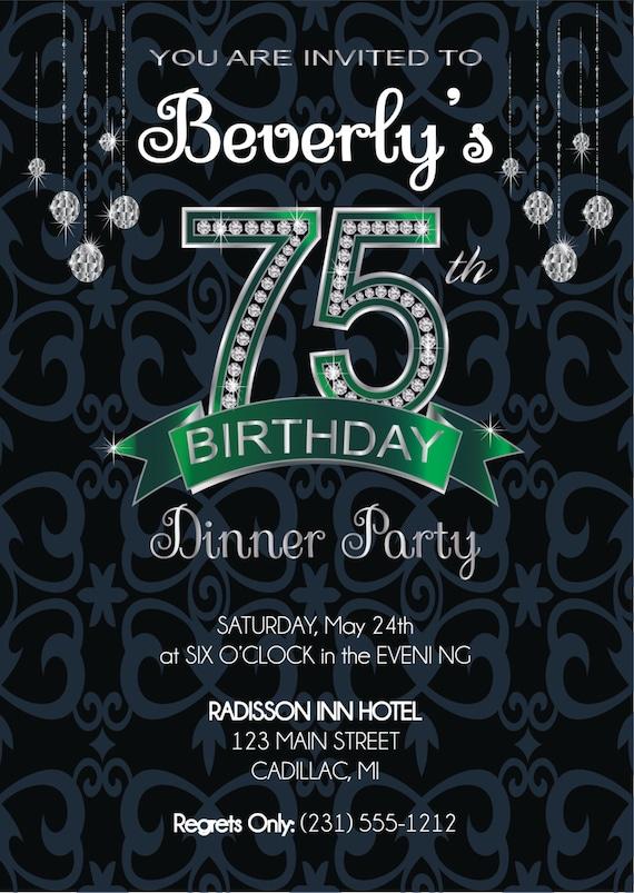 75th birthday invitation adult birthday party invitation etsy image 0 filmwisefo
