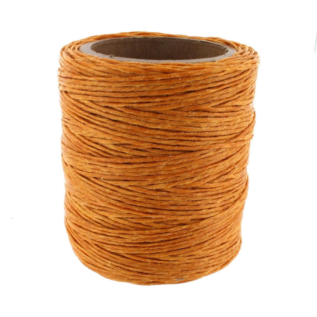 Maine Thread Waxed Cord 70 Yard Spool Topaz Gold .045