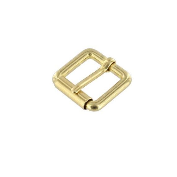 Heel Bar Buckle 10199 13mm Nickel Plate Solid Brass