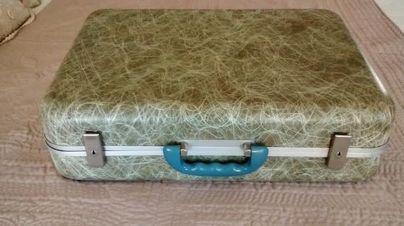 Mid-Century Modern Fiberglass Suitcase