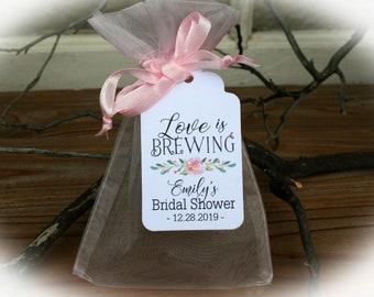 10 Heart Tea Infusers wedding favors Bridal Shower Favor Luncheon Favor Tea Time