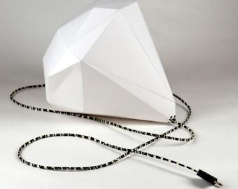 Guto - Geometric DIY lampshade 40 cm DIRECT DOWNLOAD papercraft kit