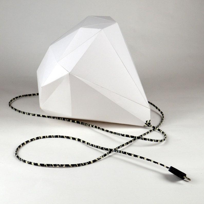 Guto  Geometric DIY lampshade 40 cm DIRECT DOWNLOAD image 0