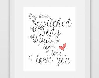 i love love love you pride and prejudice