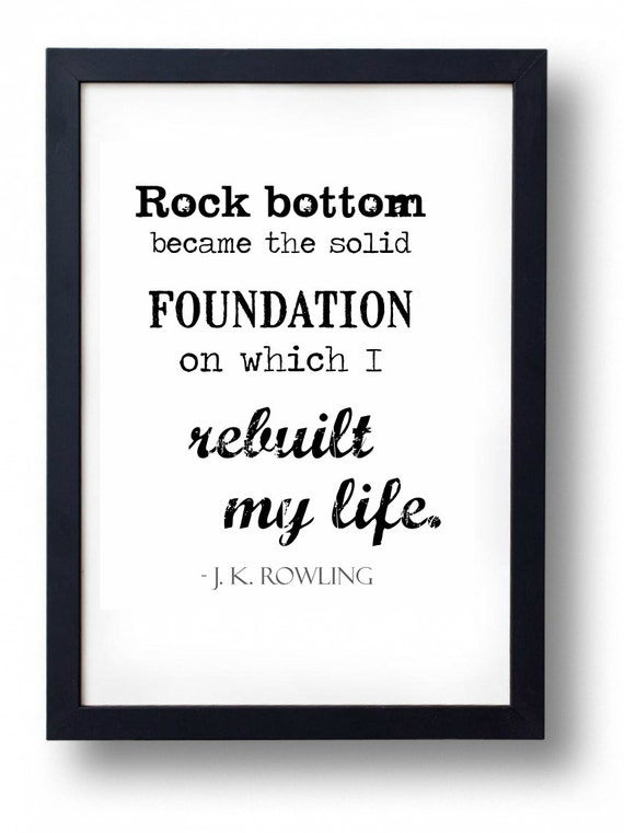 Rock Bottom Became The Solid Foundation On Which I Rebuilt My Etsy