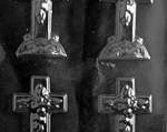 LOPR-024 - Small Cross with Base Candy Mold