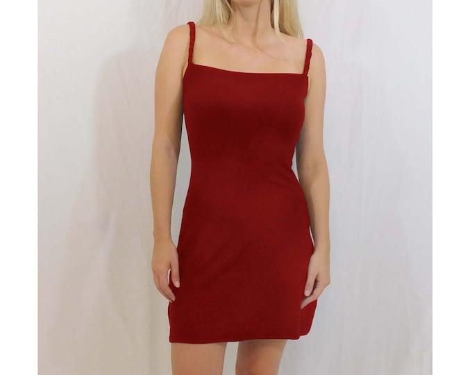Clara Braided Straps Bodycon Slip Mini Dress