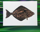 Halibut Greeting Cards - ...