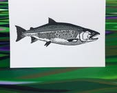 Coho Greeting Cards - 6 P...