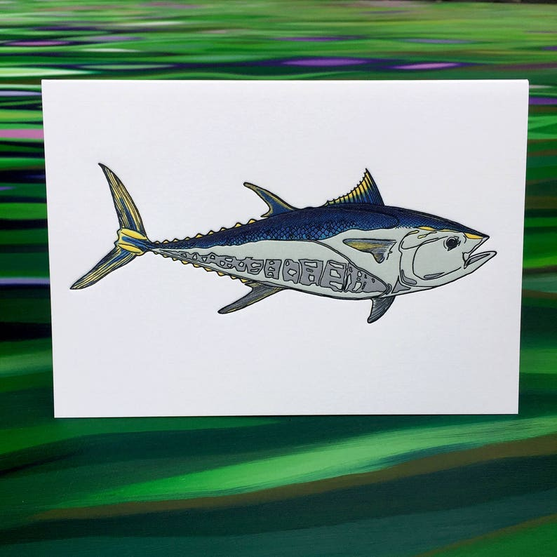 Bluefin Greeting Cards  6 Pack  4 X 6 size  image 0