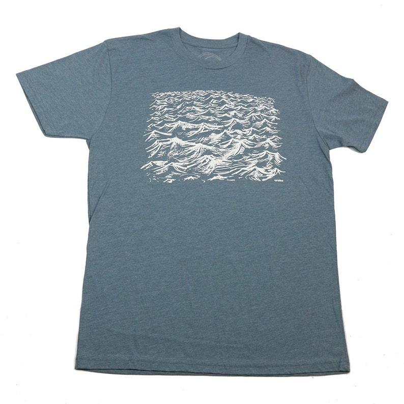 DAY DREAM  Men's T-shirt  Indigo Tshirt  Discharge image 0