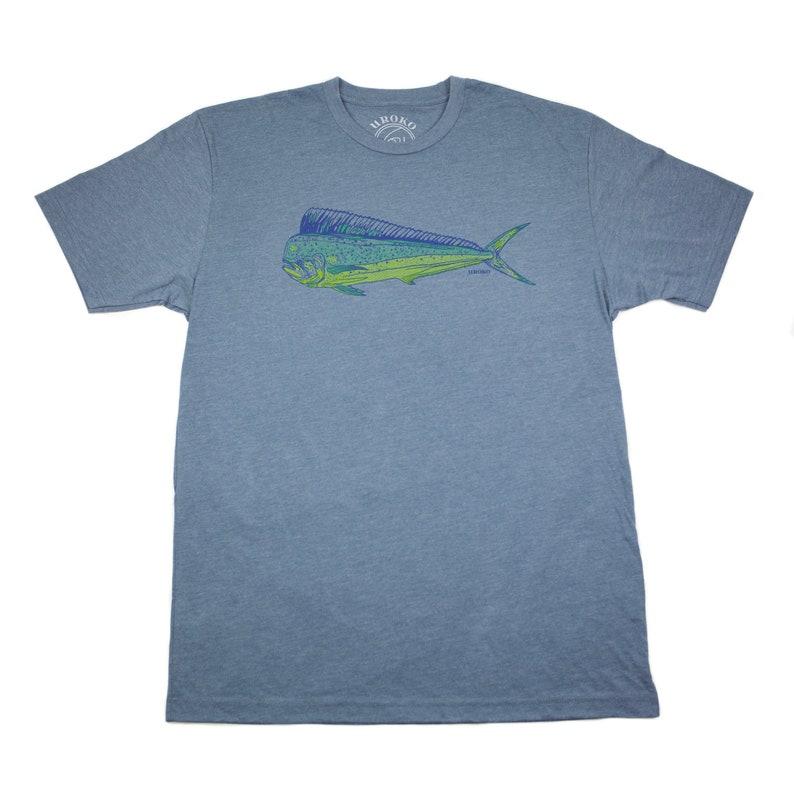 DORADO / Mahi mahi /Dolphin fish  Indigo  T-shirt  water image 0